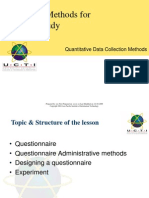 7 Quantitative Data