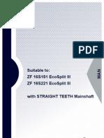 MAN 16S151_221 Straight Print