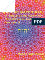 Gematria - eBook (Occult, Kabbalah) - Sepher Sapphires - A Treatise on Gematria - The Magical Language Volume 2 Part 1 - Wade Coleman