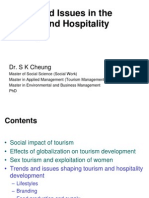 Trends and Issues in the Tourism and Hospitality