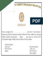 Gss Certificate