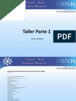 Taller 1 Reactor de lecho fijo FBNR