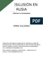 MI DESILUSIÓN EN RUSIA II