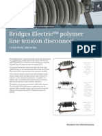 ANSI MV Bridges Polymer Disconnect Flyer En