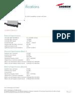 Diplexer E11F05P96