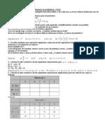 Act 2eso Lenguaje Algebraico
