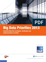 ZDNet Big Data Priorities 2013 PDF