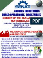 2013 - II - OPERACIONES INDUSTRIALES SESION 03