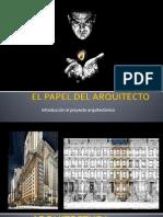 El Papel Del Arquitecto