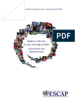 ESCAP (2009), Medical Travel in Asia and the Pacific. Challenges and Opportunities