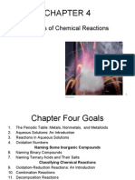 CHAPTER 04 Some Types of Chemical Reactions