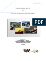 G-DOE-DOE TransDOE TRANSPORTATION RISK ASSESSMENT