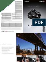 Panasonic Lumix G5 Catalog