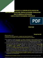 STUDIUL PETROGRAFIC AL CORPURILOR ECLOGITICE DIN UNITATEA PO.ppt