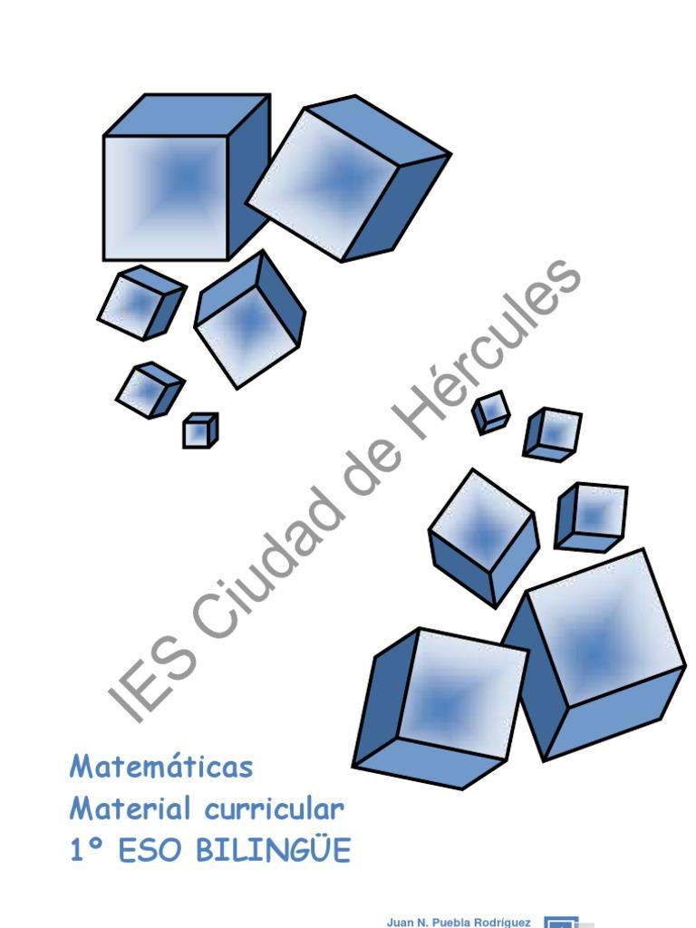 1º ESO cuadernillo bilingue | Division (Mathematics) | Mathematical ...