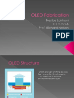 OLED Fabrication