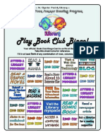 Book Bingo Handouts