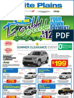 Summer Clearance Event by White Plains Chrysler