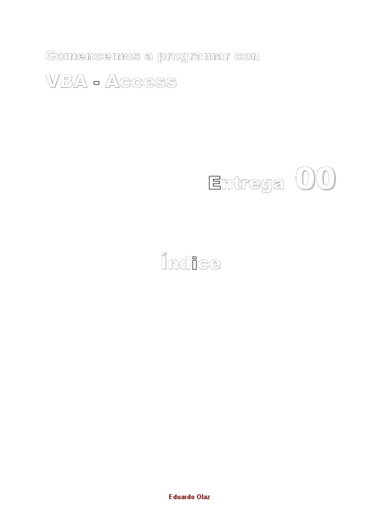 VBA Access Completo
