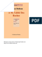 698-NICOLAS BOILEAU-A m Labbe Des Roches-[InLibroVeritas.net]