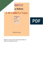 699-NICOLAS BOILEAU-A m Labbe Le Vayer-[InLibroVeritas.net]