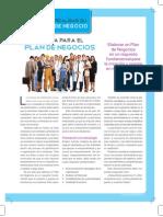 Crear empresa - plan de negocios