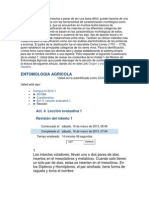 Leccion Evaluativa 1 Entomologia Agricola
