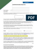 Target Retirement Date Change Form (pdf)