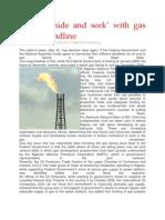Playing Hideandseek With Gas Flaring Deadline