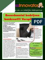 Nieuwsbrief 4-2013 - April