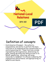 National Local Relations