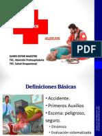 Primeros Auxilios i