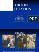 Ethics in Negotiation (1)