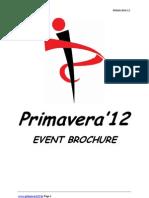 Event Guide Primavera 12