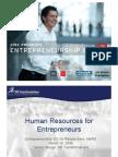 HRM for Entrepreneurs