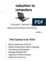 Intro to Computers PP