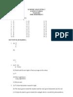 Scheme Ujian Intra 1 f2