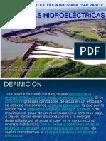 Introduccion a las Plantas Hidroeléctricas (Bolivia)