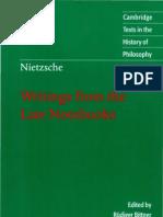 Nietzsche - Last Notebooks