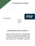 Surface Hardening
