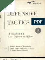 Defensive Tactics FBI 1951