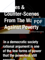 Scenes and Counter-Scenes From the War Against Poverty