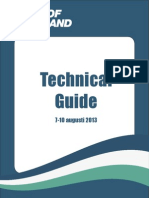 Tour of Jamtland Technical Guide 2013
