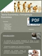 PPT Teoría Económica y Antropología Económica
