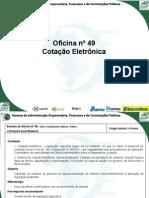 Oficina de Cotação Eletrônica - ESAF