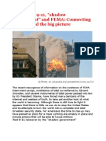 "The PNAC, 9-11, ""Shadow Government"" and FEMA - Connecting the Dots and the Big Picture"