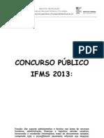 Ifms - Portugues