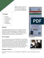 AADHAAR - Wikipedia, The Free Encyclopedia