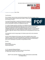 UEG Letter to Iran