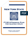 Fy 2014 First Quarterly Update